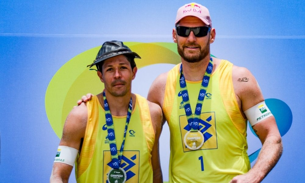 Alison Cerutti  - vôlei de praia masculino - Jogos Olímpicos de Tóquio 2020 - Mamute Alison e Álvaro Filho