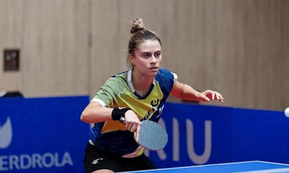 Bruna Takahashi Masters da Espanha de tênis de mesa