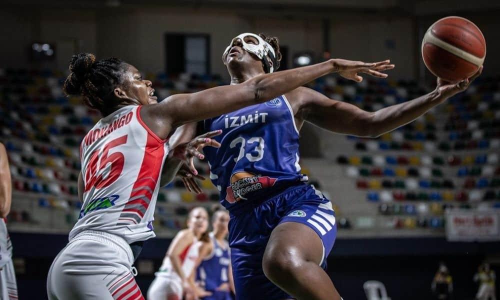 clarissa dos santos izmit Belediyespor turquia euroliga de basquete feminino