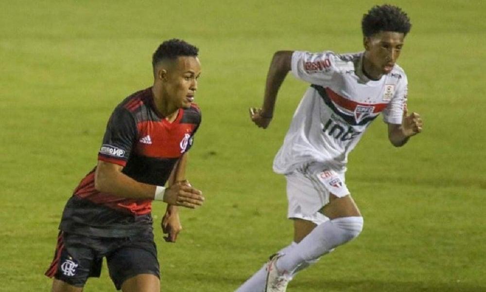 São Paulo e Flamengo ficam no empate em 0 a 0 pelo Brasileiro sub-20