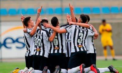 Atlético-MG encaminha classificação na Copa do Brasil sub-20