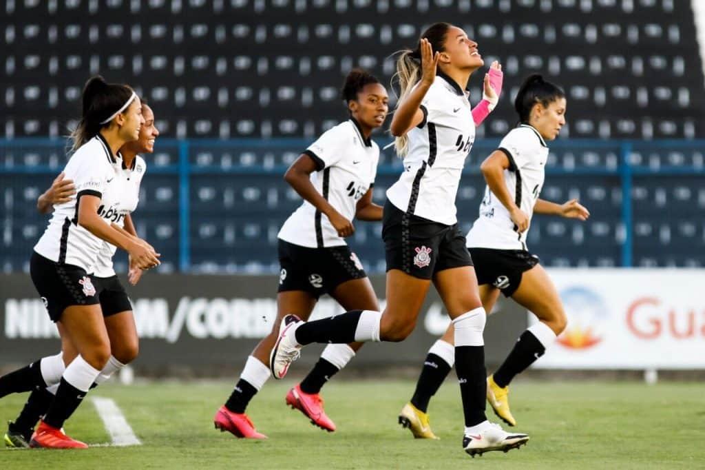 Corinthians assume a liderança do Grupo 2 com três vitórias na Campeonato Paulista de Futebol Feminino Nacional