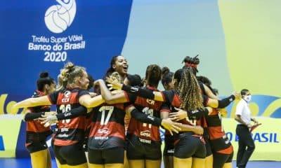 Sesc Flamengo Dentil/Praia Clube Troféu Super Vôlei Ao vivo