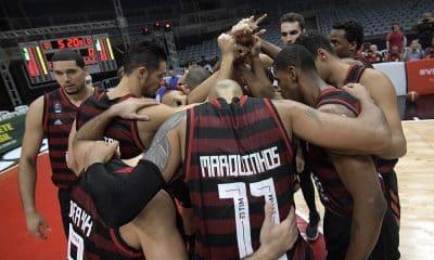 Flamengo e Quimsa - Flamengo - Quimsa - Champions League das Américas