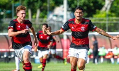 Flamengo x Sport - Brasileiro Sub-20 de futebol