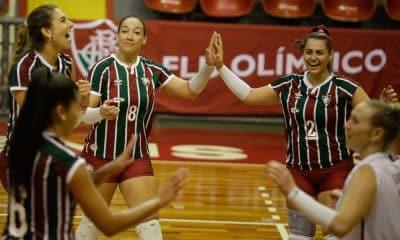 Fluminense x Brasília - Superliga feminina