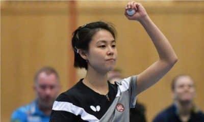 Jessica Yamada - Kopings - Campeonato Sueco de tênis de mesa