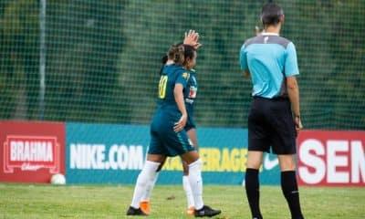 Seleção Feminina realizou um jogo-treino para encerrar período de treinos