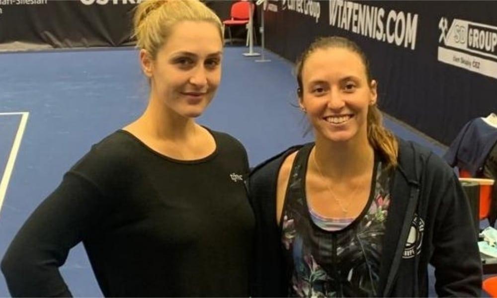 Luisa Stefani - Premier de Ostrava - Gabriela Dabrowski