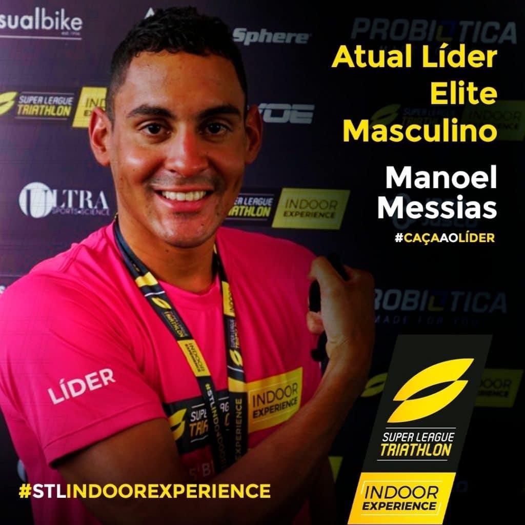 Manoel Messias, Djenyfer Arnold e Luma Guillen estreiaram SLT Indoor Series, competição de triatlo indoor em um formato diferente; OTD também fez a prova