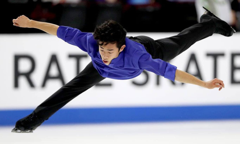 Abertura da temporada da patinação artística no gelo