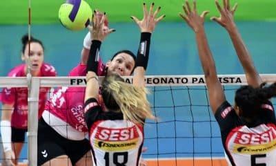 Osasco e Bauru - Osasco - Sesi Bauru - Campeonato Paulista de vôlei feminino