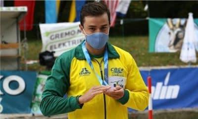 Pepê Gonçalves - Ana Sátila - Mathieu Desnos - Copa do Mundo de canoagem slalom