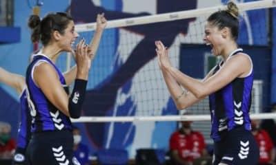 Pinheiros x São Caetano - Superliga feminina de vôlei