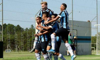 Grêmio bate o Sport e mantém 100% de aproveitamento no Brasileiro sub-17