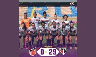 São Paulo e Taboão da Serra - Futebol feminino