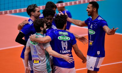 Sada Cruzeiro campeão Mineiro de vôlei e Minas fica com o vice