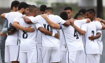 Santos x Goiás -Brasileiro Sub-20 de futebol