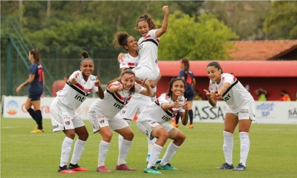 São Paulo - Red Bull Bragantino - Campeonato Paulista Feminino