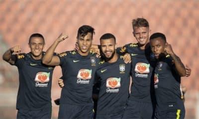 Seleção Brasileira Sub-20 - Ituano - Amistoso - Sul-Americano