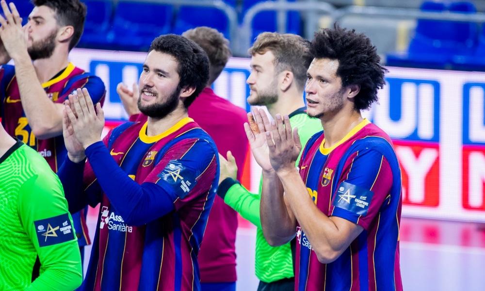Time de Thiagus Petrus e Haniel Langaro, o Barcelona venceu pelo Espanhol após triunfo na quinta (29) na Champion; Jéssica Quintino vira líder na Dinamarca