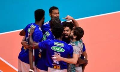 Sada Cruzeiro x Blumenau - Troféu Super Vôlei masculino