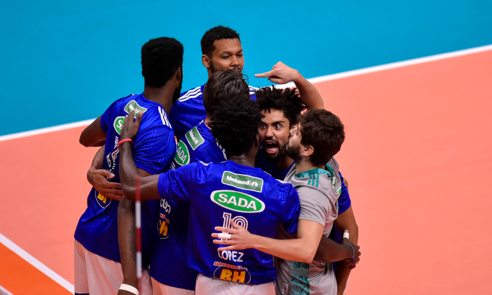 Sada Cruzeiro Vence O America Mg Na 9ª Rodada Da Superliga Masculina
