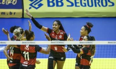 Flamengo vence Minas Super Vôlei