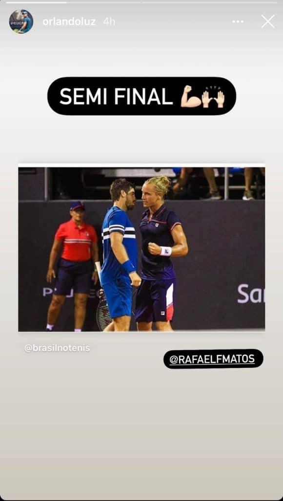 Na manhã dessa quinta-feira, Thiago Monteiro avançou à 3ª rodada na chave simples e Luisa Stefani estreou com vitória nas duplas em Roland Garros, na França