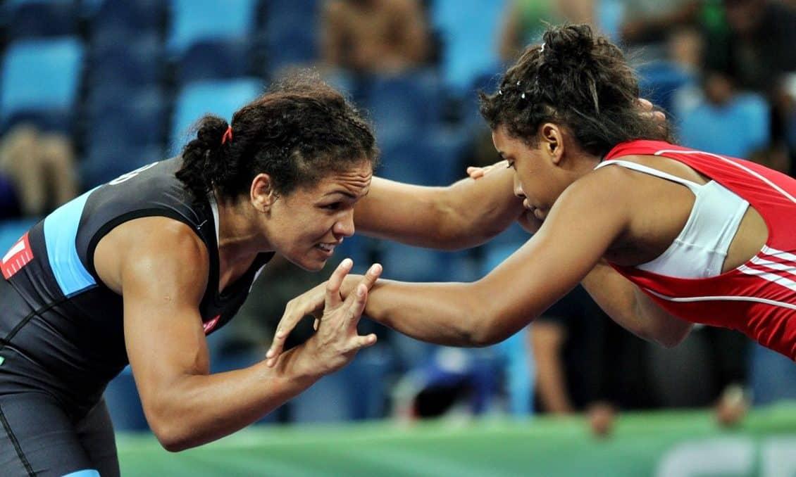 Aline Silva e Thamires Machado Seleção brasileira de wrestling Missão Europa Portugal