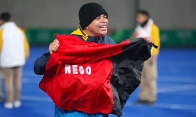 Bamba Josinaldo Sousa seleção de futebol de 5 ouro Jogos Pan-Americanos de Lima República da Paraíba