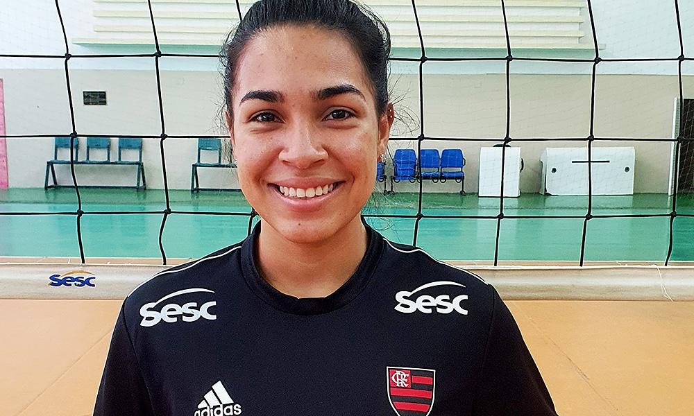 Camila Gomez Sesc Flamengo líbero reforço vôlei feminino