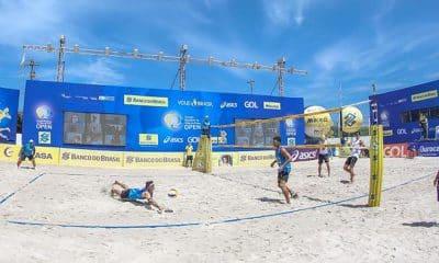 circutio brasileiro de vôlei de praia masculino segunda etapa saquarema