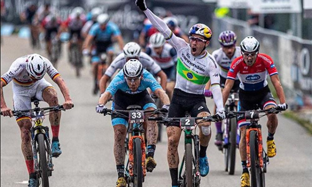 Henrique Avancini Nove Mesto República Tcheca Copa do Mundo Mountain bike Short Track líder