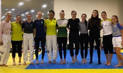 Icaro Miguel Milena Titoneli Taekwondo sérvia missão europa
