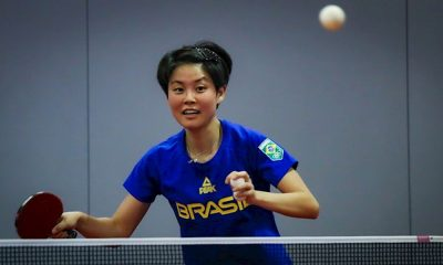 Jessica Yamada tênis de mesa Köping Liga da Suécia de tênis de mesa Missão Europa Portugal
