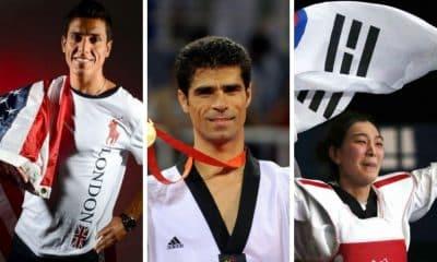 maiores medalhistas do taekwondo nos Jogos Olímpicos