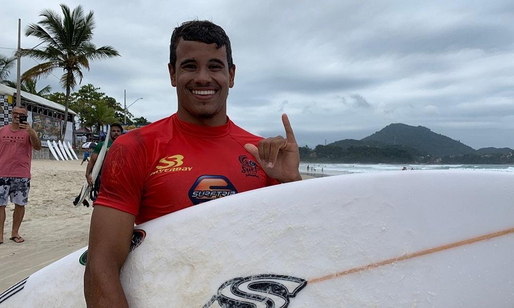 Marcos Corrêa vence etapa de Ubatuba, que marca o retorno do surfe brasileiro CBSurf Pro Tour