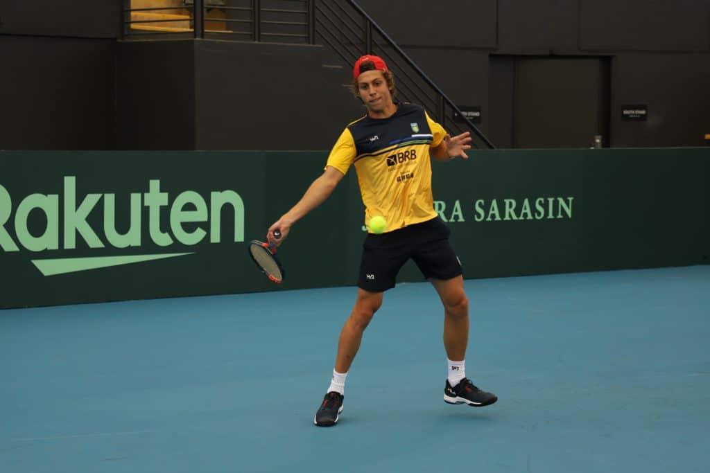 Pedro Boscardin tênis tênis masculino