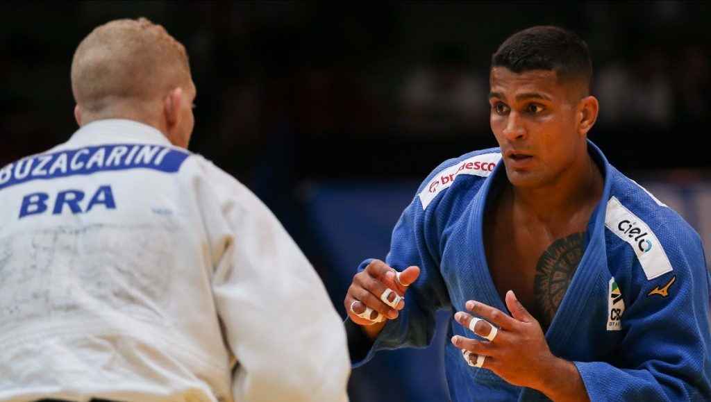 Rafael Buzacarini Leonardo Gonçalves Leo Gonçalves seleção brasileira de judô corrida olímpica Grand Slam de Budapeste