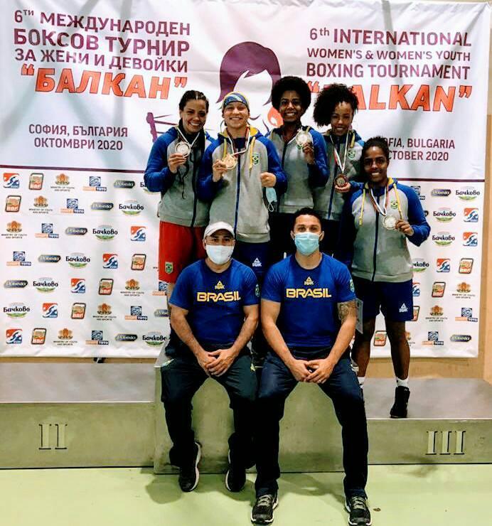 Bia Ferreira campeã torneio dos balcãs boxe seleção brasileira de boxe feminino