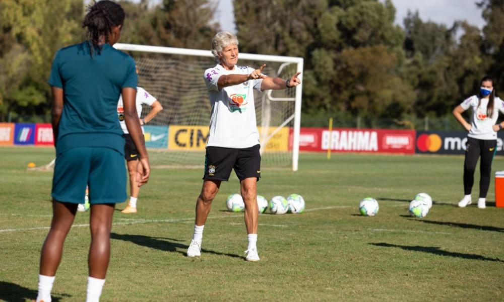 Pia Sundhage seleção feminina de futebol treinos portugal