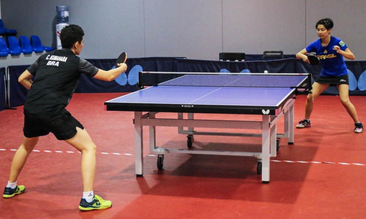 Campeonato Brasileiro tênis de mesa data Caroline Kumahara Jessica Yamada Missão Europa Portugal
