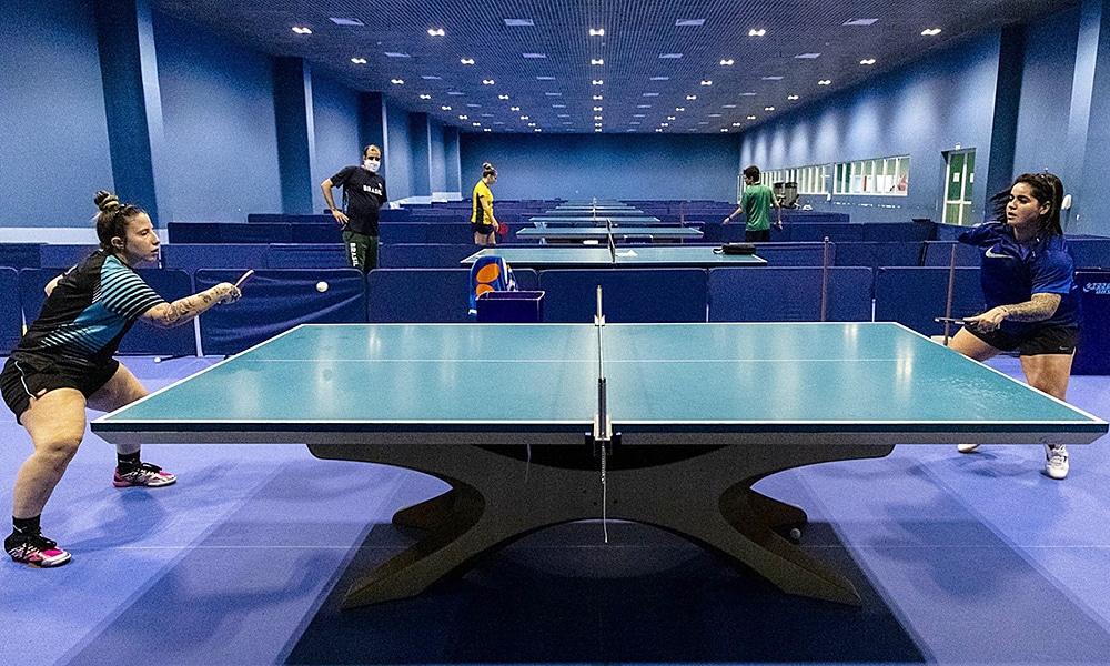 tênis de mesa paralímpico seleção brasileira treino treinamento Centro Paralímpico Brasileiro