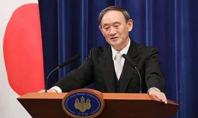 Yoshihide Suga Jogos Olímpicos otimismo primeiro ministro do Japão