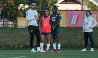Seleção Brasileira feminina sub-20 realiza período de treinos no Rio