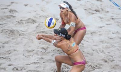 Duda e Ágatha se classificaram para a semifinal da etapa