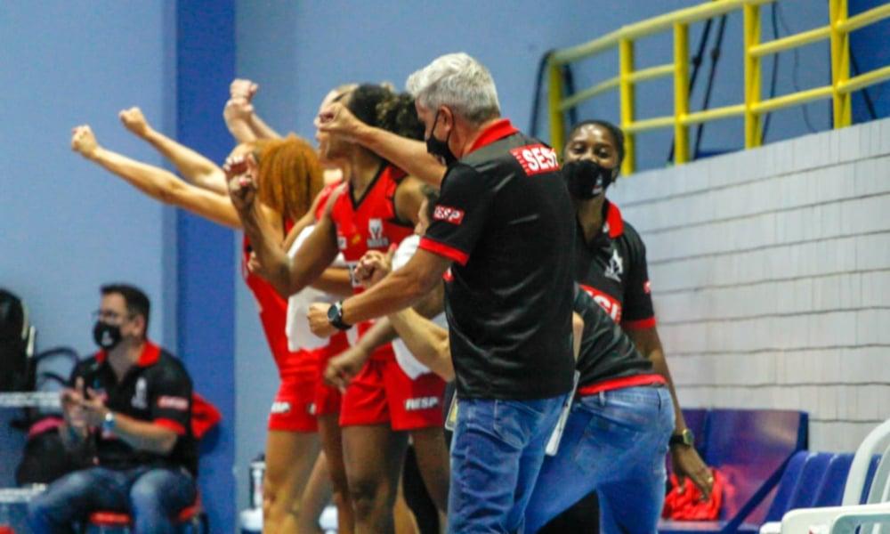 Santo André/APABA e Sesi Araraquara fecharam a segunda rodada da segunda fase do Campeonato Paulista 2020 de basquete feminino nesta segunda-feira (30). Em jogo disputado no ginásio Parque Celso Daniel, no ABC Paulista, o time comandado pelo técnico Daniel Wattfy venceu com facilidade por 68 a 46. Na etapa inicial, as equipes se enfrentaram na mesma cidade e as mandantes tinham vencido por 55 a 52.