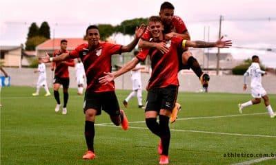 Athletico-PR - São Paulo- Brasileiro Sub-20