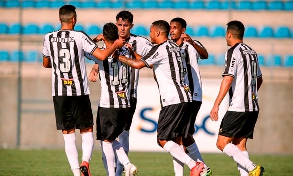 Atlético-MG e Goiás - Atlético-MG - Goiás - Copa do Brasil Sub-20 - Athletico-PR